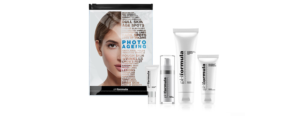 Combat visible signs of ageing with pHformula