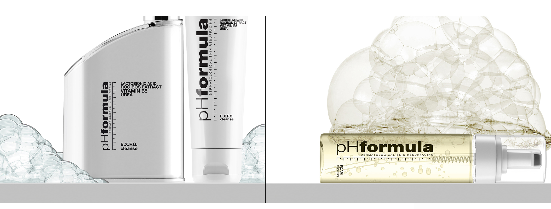 pHformula has the perfect and simple skincare regime for men with very easy steps to follow! : Step 1